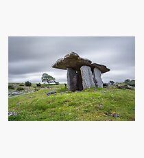 Poulnabrone dolmen , County Clare, Ireland Photographic Print