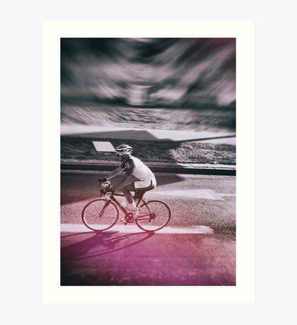 street photo CYCLING #street #photo Art Print