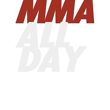 MMA All Day by MartialMania