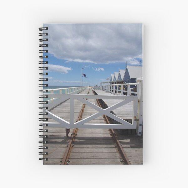 Busselton Jetty Spiral Notebook