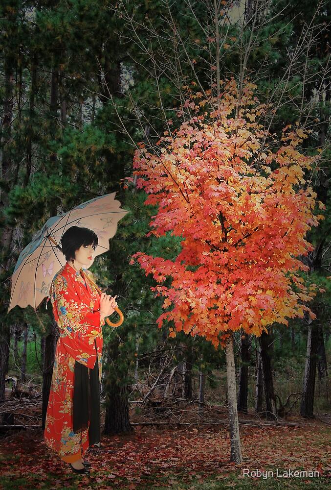 Autumn sapling by Robyn Lakeman