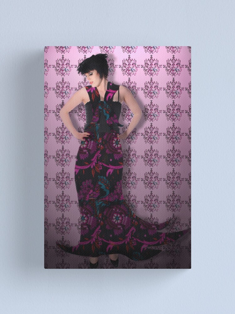 Alternate view of Fun with patterns Canvas Print