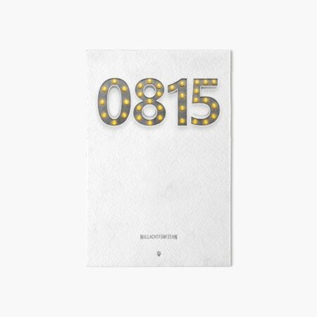 0815 - Alles andere als  Nullachtfünfzehn! Galeriedruck