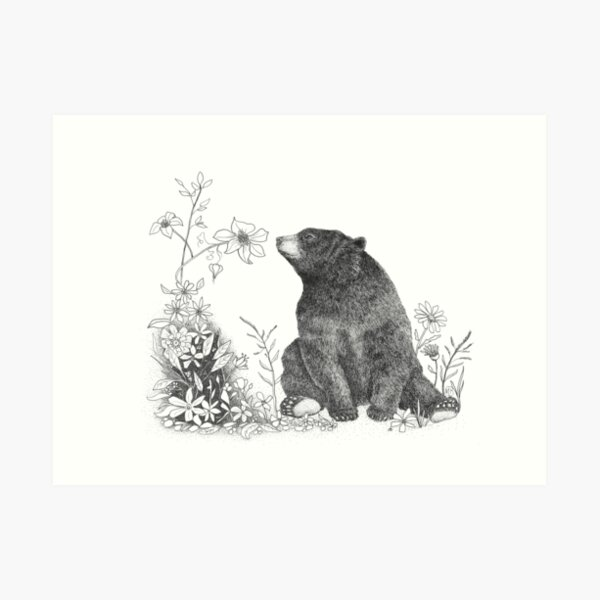 Stop and Smell the Flowers Art Print