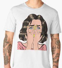 Pop culture (yellow version)  Men's Premium T-Shirt