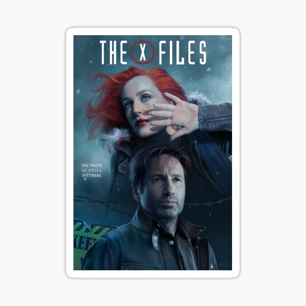 The X-files Poster s11 n°3 Sticker