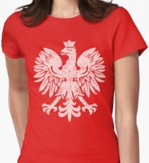 Polish White Eagle Women's Fitted T-Shirt