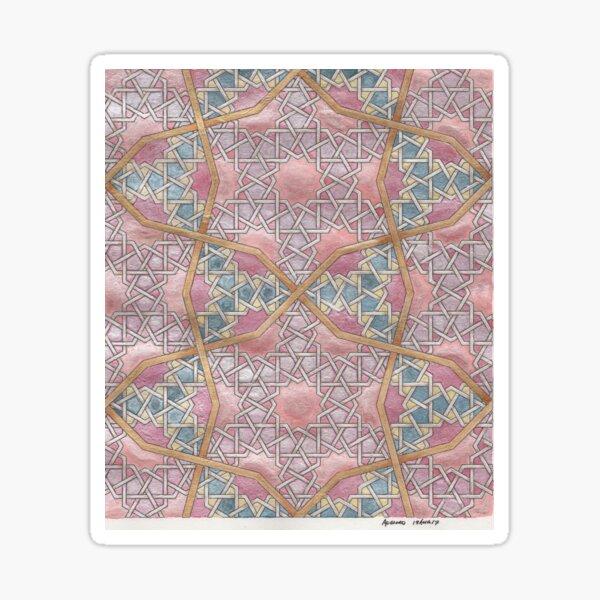 Metallic Twelves Sticker