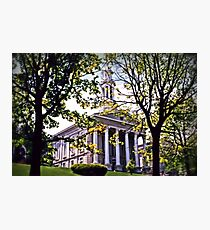 Court House, Easton Photographic Print