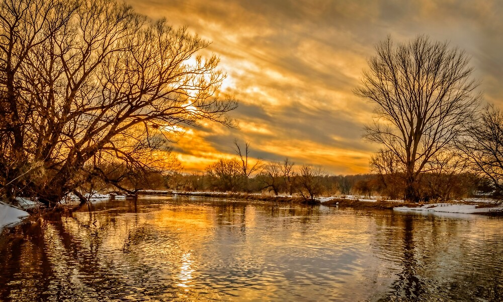 Golden River by Garvin Hunter Photography