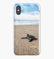 go turtle go  iPhone Case/Skin
