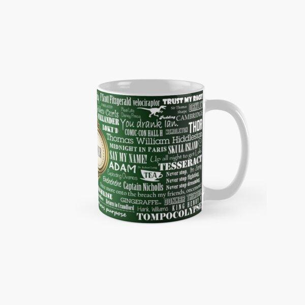 Hiddlestoner Mug - Tom Hiddleston (Green) Classic Mug