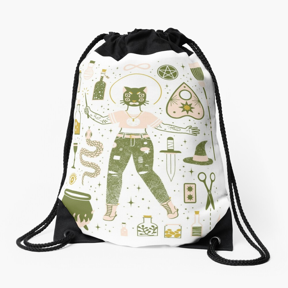 The Witch Drawstring Bag