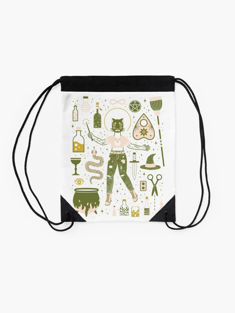 Alternate view of The Witch Drawstring Bag