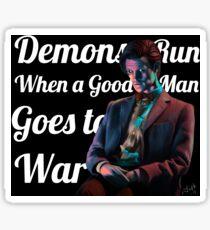 The Anger of a Good Man Sticker