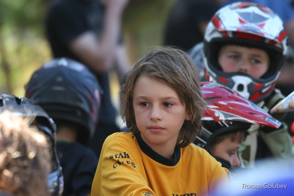 Before the race by Roman Golubev