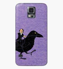 Poe und Rabe Hülle & Klebefolie für Samsung Galaxy