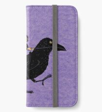 Poe and Raven iPhone Wallet/Case/Skin