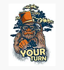 Your Turn Photographic Print