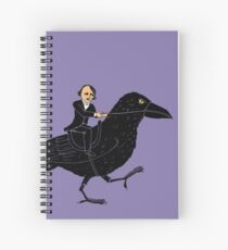 Poe and Raven Spiral Notebook