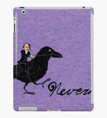Poe and Raven iPad Case/Skin