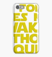 Nerdy Quote > No Force Without Tequila > Sci-Fi iPhone Case/Skin