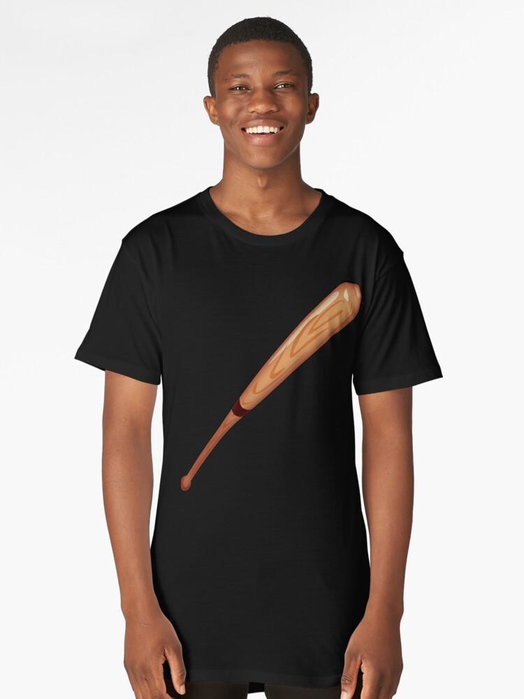 Camisetas largas «BÉISBOL, BAT, Deporte, Juego, Golpe, Bateador ...