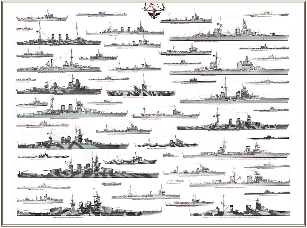 Italian Navy ww2 by TheCollectioner