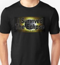I Survived the Eclipse Unisex T-Shirt