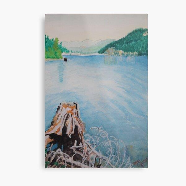 Oakridge Reservoir #4 Metal Print