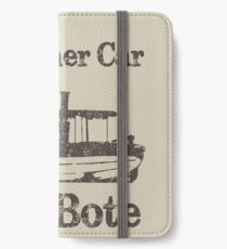 Jungle Cruise: My Other Car is a Bote iPhone Wallet/Case/Skin