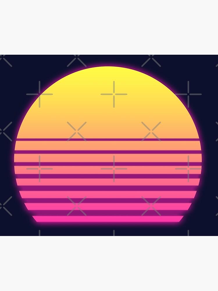 Synthwave Sun by christopper
