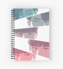 KNK (크나큰) All - Rainbow Version Spiral Notebook