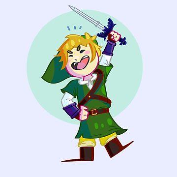 Legend of Zelda Chibi Link by Pokealoke