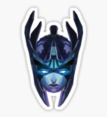 Phantom Assassin Low Poly Art Sticker