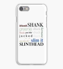 The Maze Runner Slang iPhone Case/Skin
