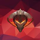 Chaos Knight Low Poly Art by giftmones