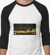 Amsterdam at Night2 Men's Baseball ¾ T-Shirt