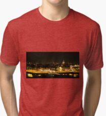 Amsterdam at Night2 Tri-blend T-Shirt