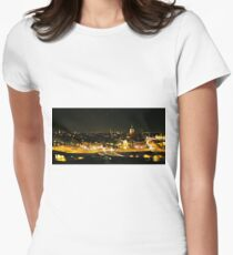 Amsterdam at Night2 Women's Fitted T-Shirt