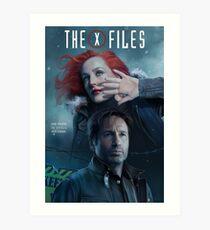 The X-files Poster s11 n°3 Art Print