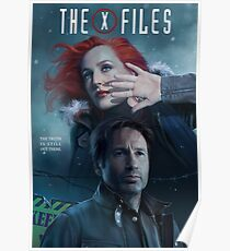 The X-files Poster s11 n°3 Poster