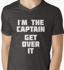 I'm The Captain Get Over It | Funny Water Sea T-Shirt T-Shirt