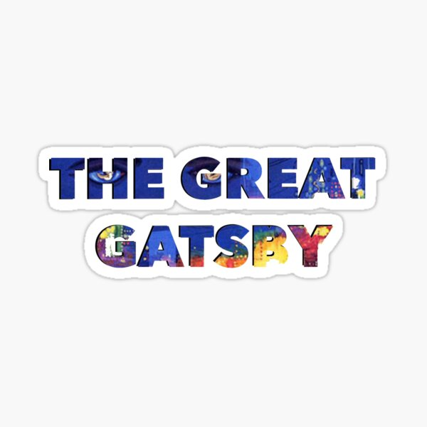 The Great Gatsby Sticker