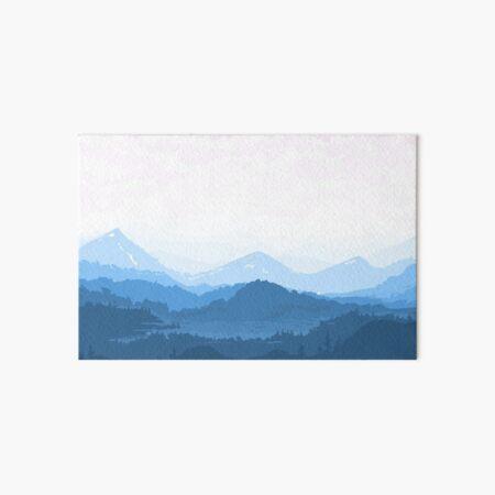 Mountain Lake Art Board Print