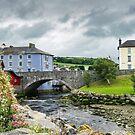 Aberaeron Wales by Ann Garrett