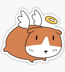 Angel Guinea Pig Sticker