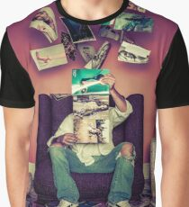 Angel is a Centerfold Graphic T-Shirt