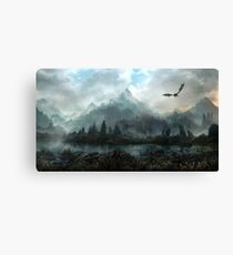 Skyrim - Marshes of Solitude Canvas Print