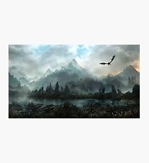 Skyrim - Marshes of Solitude Photographic Print
